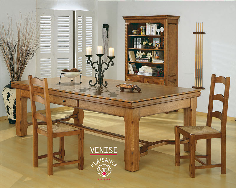 Venise Pool Table with Dining Top
