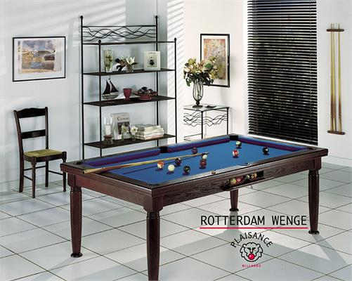 Billards Plaisance Rotterdam Wenge Pool Table - 6ft, 7ft, 8ft
