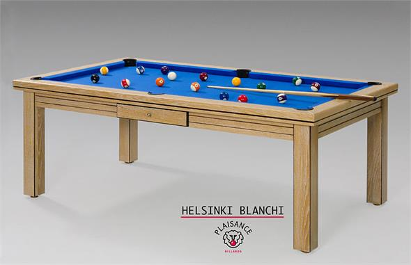 Billards Plaisance Helsinki Limed Pool Table - 6ft, 7ft, 8ft