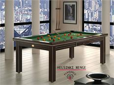 Billards Plaisance Helsinki Wenge Prestige Pool Table - 6ft, 7ft, 8ft