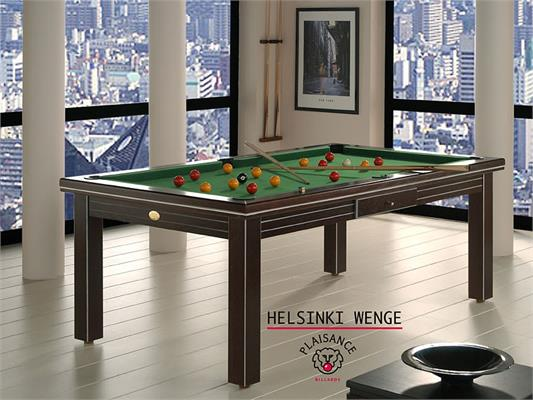 Billards Plaisance Helsinki Wenge Pool Table - 6ft, 7ft, 8ft