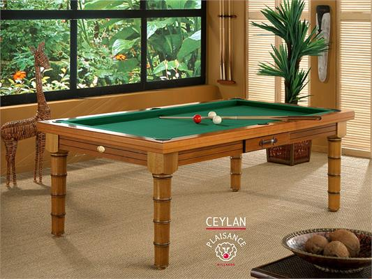 Billards Plaisance Ceylan Prestige Pool Table - 6ft, 7ft