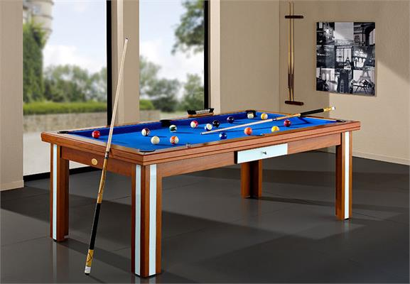 Billards Plaisance Milan Verre Prestige Pool Table - 6ft, 7ft