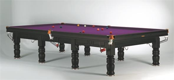 Sam Tagora Snooker Table Black - 12ft