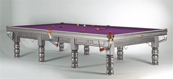 Sam Tagora Snooker Table Silver - 12ft