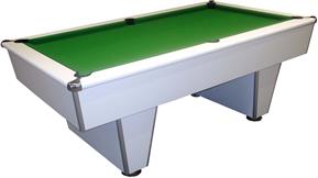 Harvard American Pool Table: White - 7ft