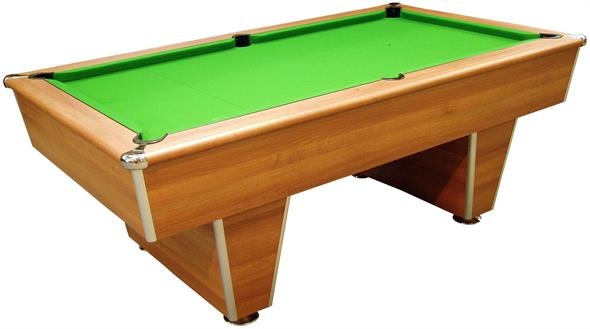 Signature Harvard American Pool Table: Light Walnut - 7ft