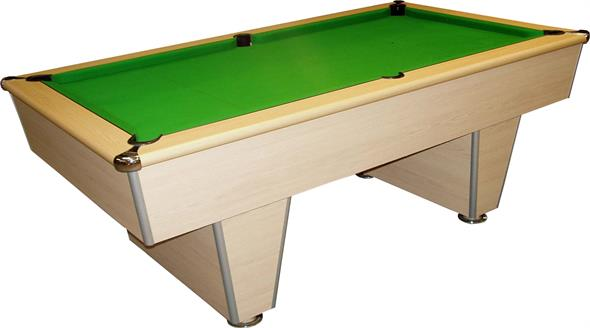 Signature Harvard American Pool Table: Light Oak - 7ft