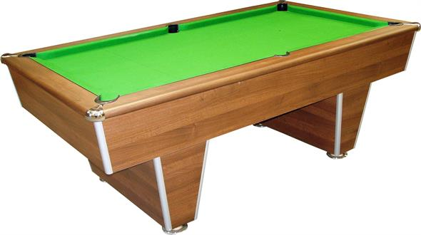 Signature Harvard American Pool Table: Dark Walnut - 7ft