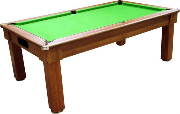 Signature Oxford Pool Dining Table: Dark Walnut - 6ft, 7ft