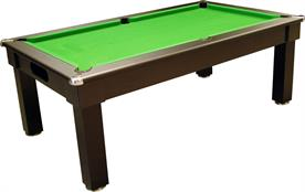 Signature Oxford Pool Dining Table: Black - 6ft, 7ft