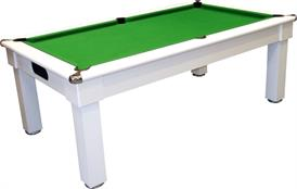 Signature Oxford Pool Dining Table: White - 6ft, 7ft