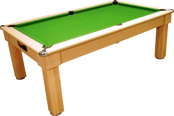 Signature Oxford Pool Dining Table: Light Oak - 6ft, 7ft