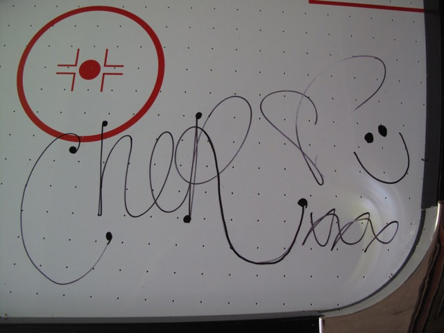 Signed by Cher Lloyd