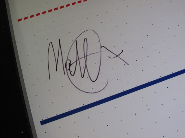 Signed by Matt Cardle