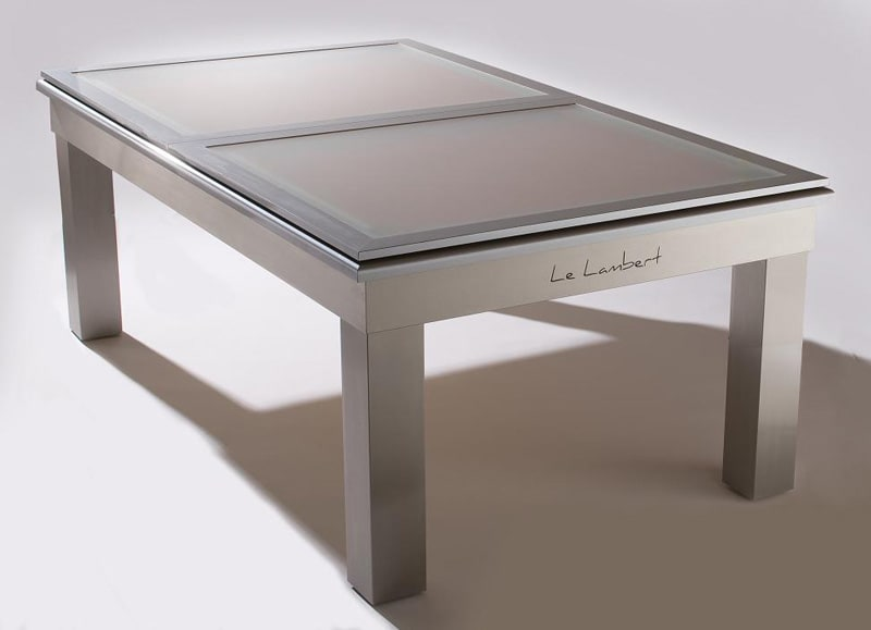 Le Lambert Frosted Glass Top