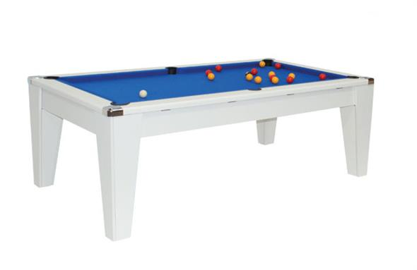 Avant Garde Pool Dining Table: White - 6ft, 7ft