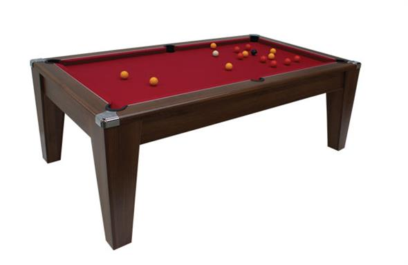 Avant Garde Pool Dining Table: Dark Walnut - 6ft, 7ft