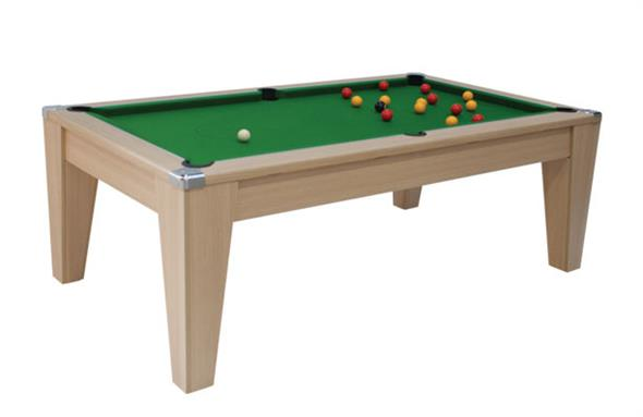 Avant Garde Pool Dining Table: Oak - 6ft, 7ft