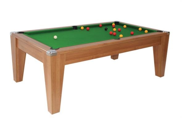 Avant Garde Pool Dining Table: Walnut - 6ft, 7ft