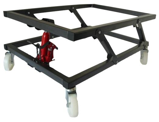 Pool Table Trolley - Foot Pump