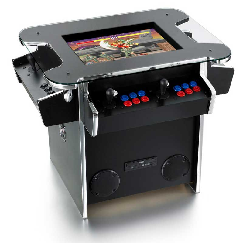 An image of Synergy Play Cocktail Arcade Machine