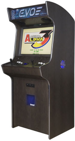 An image of Evo Media Arcade Machine