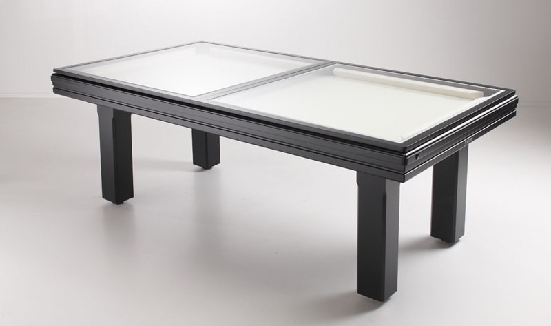 Toulet Broadway Pool Table Large Square Dining Top