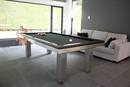 Toulet Loft Pool Table Room Shot 1