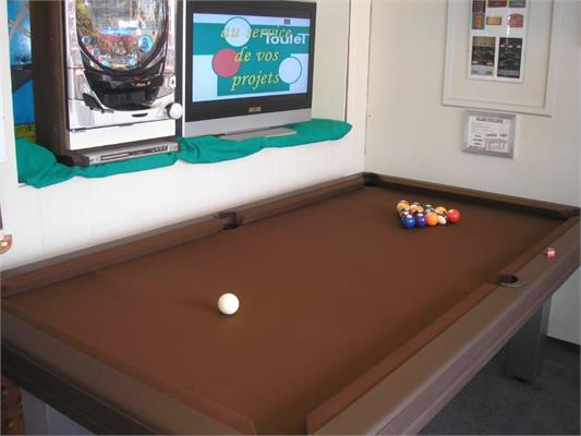 Toulet Leather Pool Table - 7ft, 8ft, 9ft