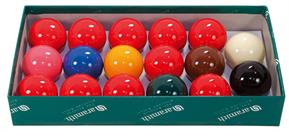 "2"" Aramith Snooker Balls - 10 Red"
