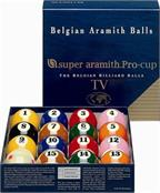 "2 1/4"" Aramith US Super Pro Cup TV Pool Balls Set"