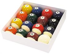 "2 1/4"" Spots and Stripes Pool Balls"