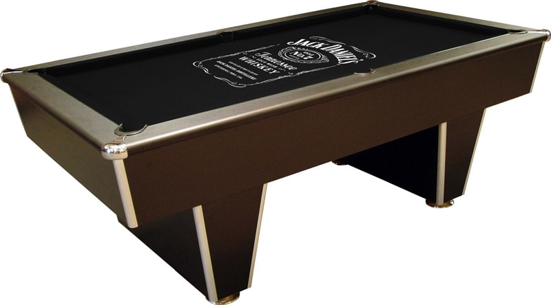 Cambridge Pool Table with Jack Daniel's Cloth