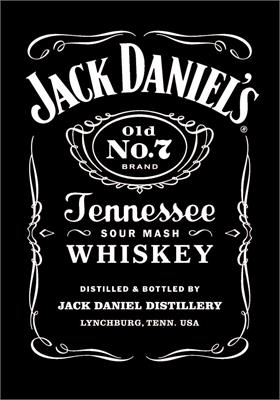 Jack Daniel's Pool Table Cloth - 7ft Smart Cloth