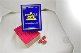 Triangle Chalk Red - Box of 12