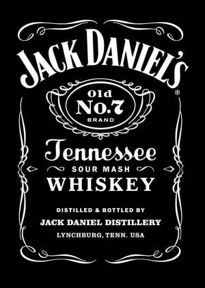 Jack Daniels Pool Table Cloth
