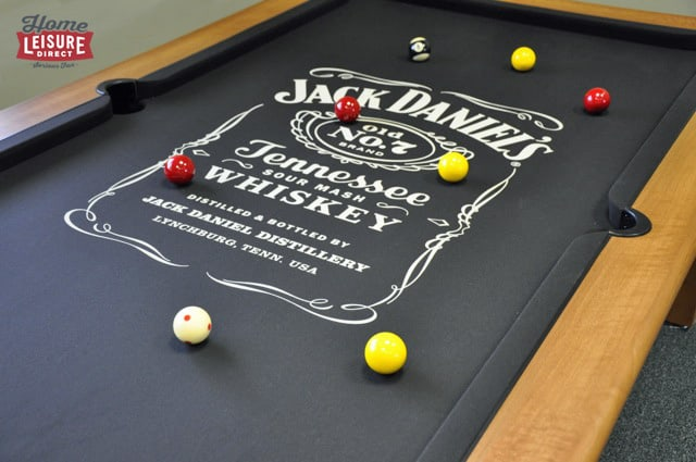 Jack Daniels Pool Table Cloth - fitted