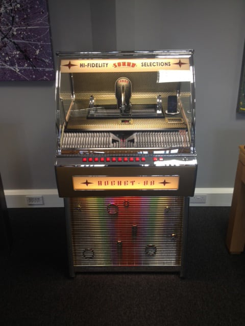 Sound Leisure Rocket 88 Jukebox - Showroom Shot