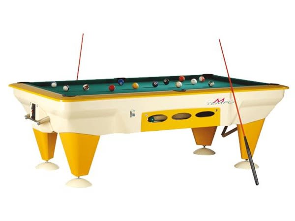 An image of Sam Tempo Outdoor American Pool Table - 7ft |