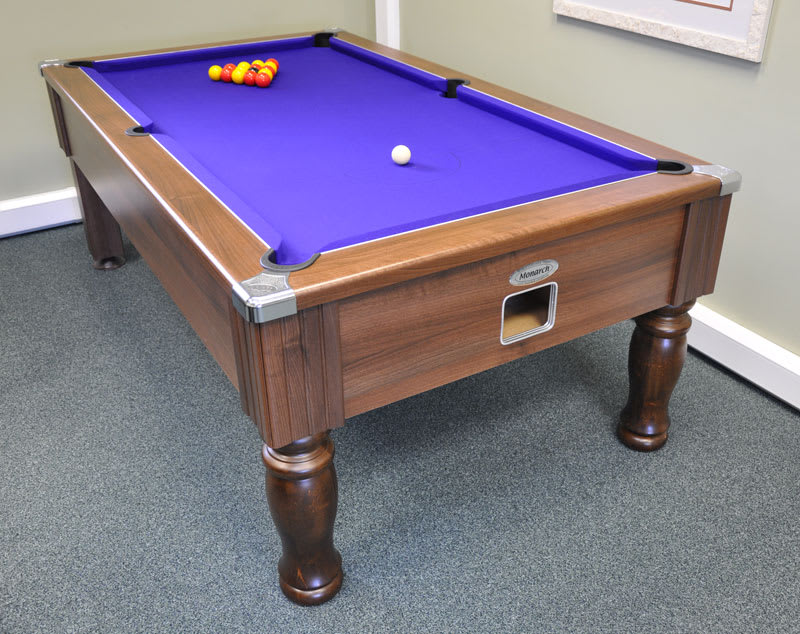 An image of Monarch Pool Table: All Finishes - 6ft, 7ft
