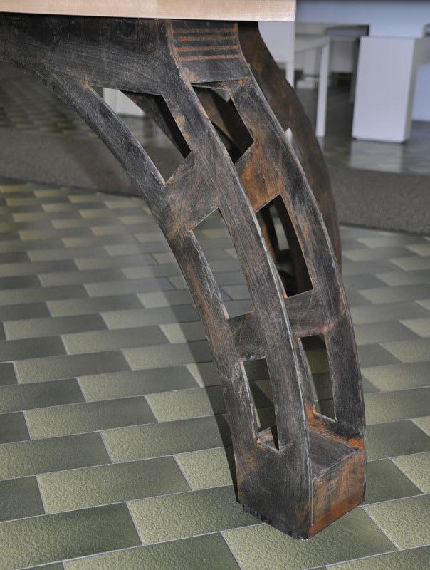 Etrusco P40 Leg: Raw Steel