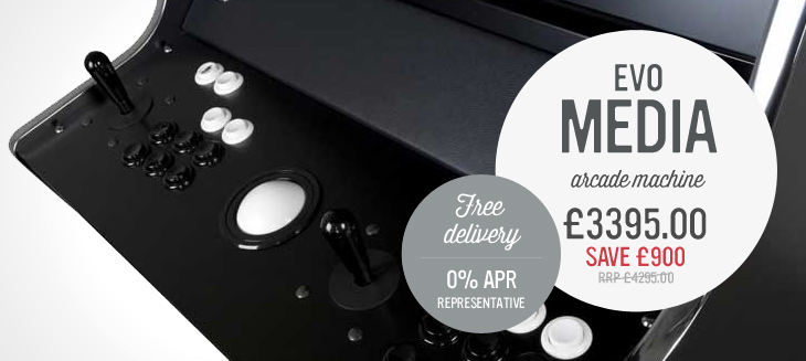 Evo Media Arcade Machine only £3,995