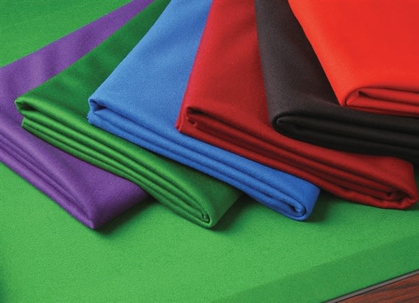 Pool Cloth Colours