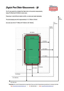 Pool Table Room Size Guide Home