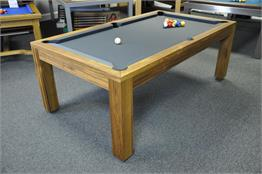 Billards Montfort Lewis Teak Pool Table