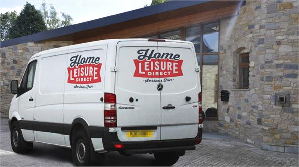 Home Leisure Direct Delivery Van