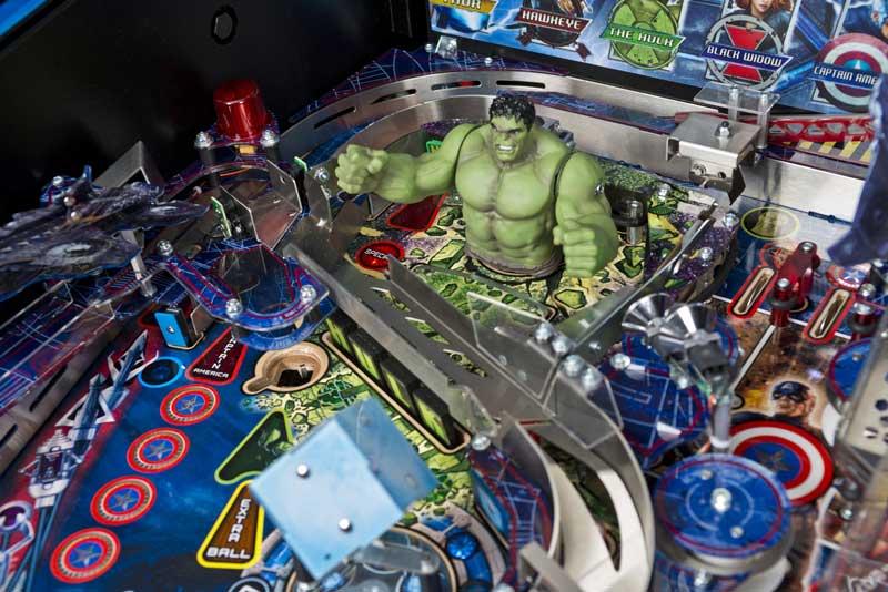 Avengers Limited Edition Pinball Machine - Close-Up 5