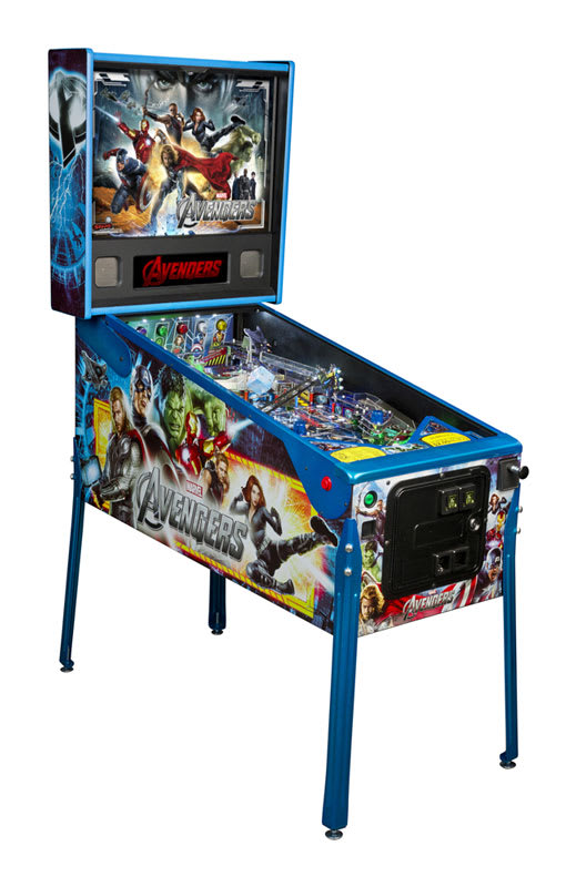 An image of Stern Avengers Limited Edition Pinball Machine