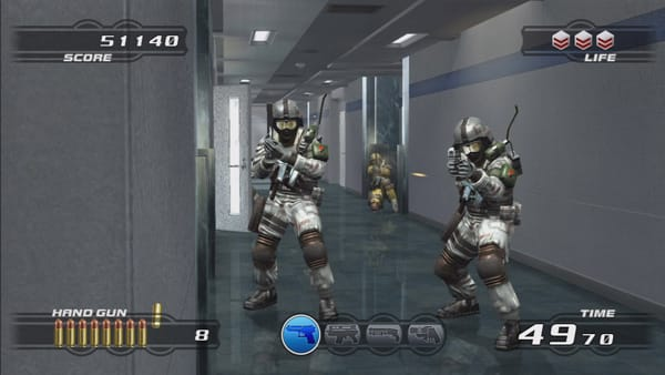 Time Crisis 4 Screenshot 1